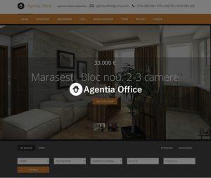 site agenție imobiliară