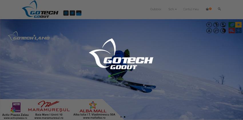 web design magazin online Gotech