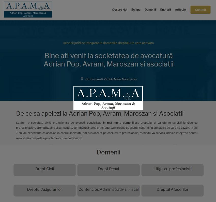 Refacere site Avocati Baia Mare