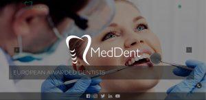 Site de prezentare clinica dentara